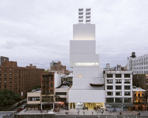 architecture tour :: new museum