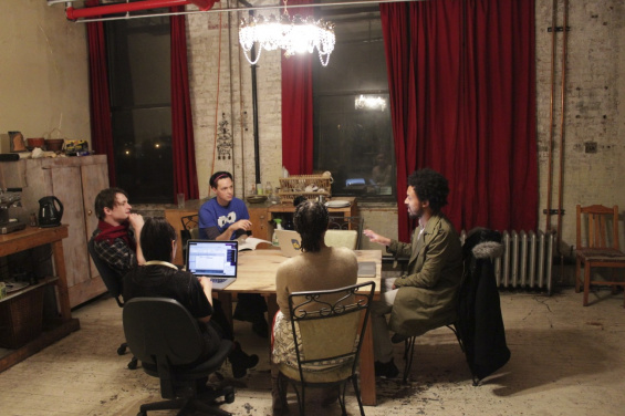 kitchen table coders presents: learn to code from an artist :: new