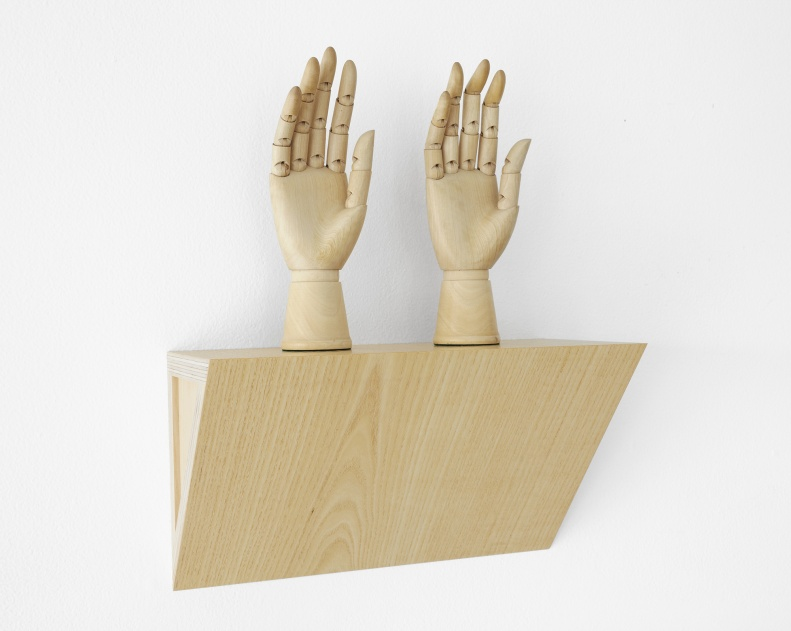 Untitled (female mannequin right hands)