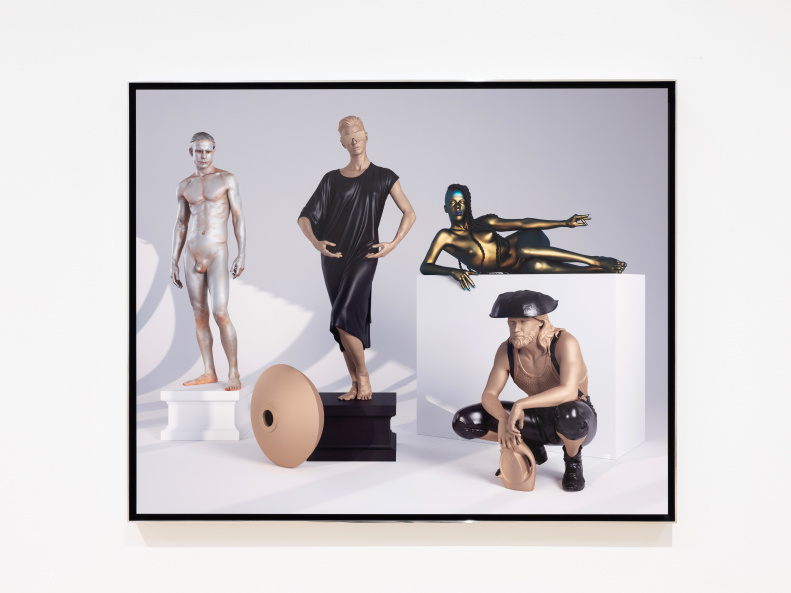 Human Statue Series (Sky Room)